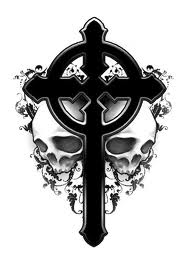 Cross Skulls Tattoo