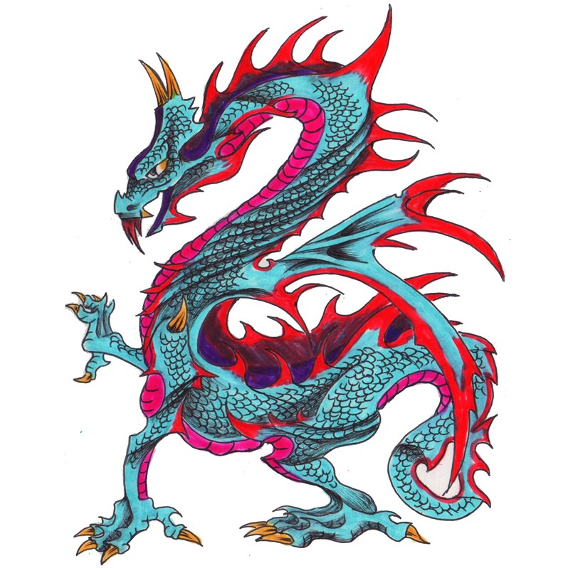 Dragon Tattoo Meanings