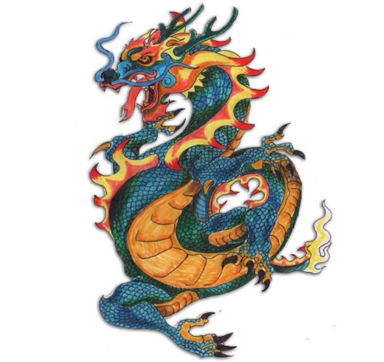 Dragon Tattos Meanings