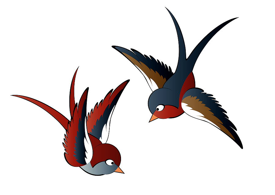 Swallow Tattoo Meanings & Ideas