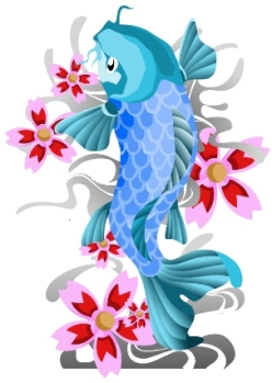 koi tatoo idea